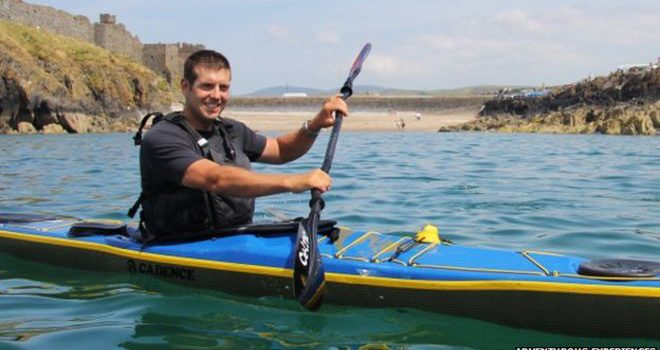 Kayaker Breaks Isle of Man Circumnavigation Record